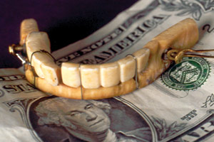 george washington denture